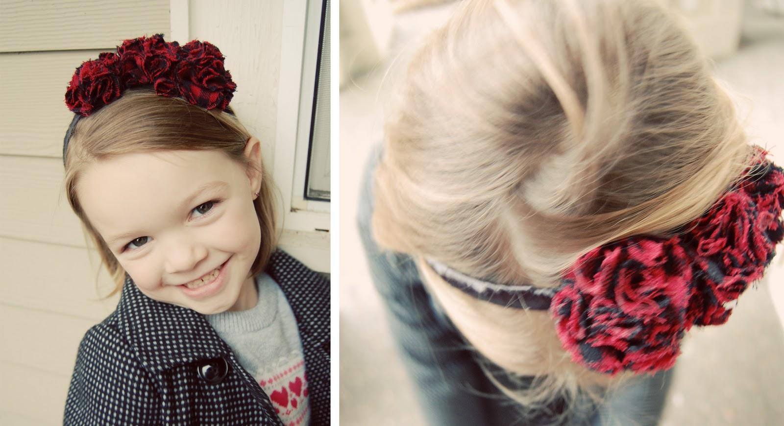 Причёски для девочек с ободком