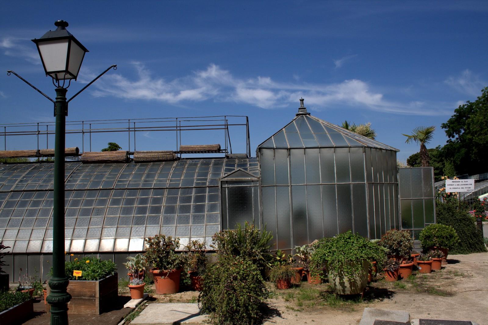 Fotoblog madrid las estufas del retiro - Invernadero de cristal ...