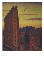 John Sloan  Sunset in New York