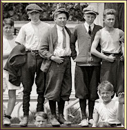 1924 Boys Pose at Camp