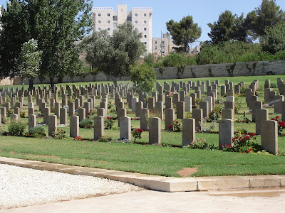Jerusalem War Cemetery on Mt. Scopus