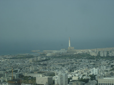 Tel Aviv from the Azrieli Tower observatory