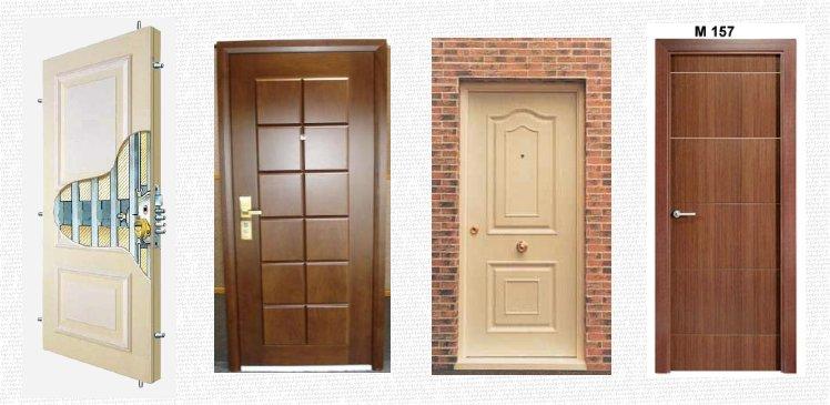 Master lock puertas de alta seguridad residenciales for Puerta de madera con marco