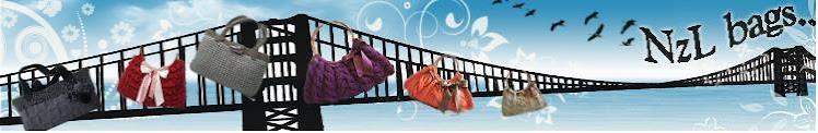 Handmade Knit Handbag