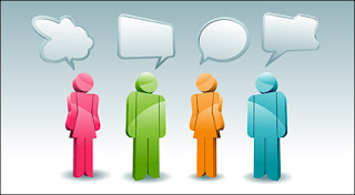 3D dialogue bubble vecto graphic 3D Dialogue / Speech Bubble Vector Graphic