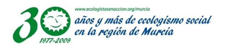 30 años de ecologismo social en la Región de Murci