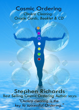 Cards, Audio CD and Booklet - Cosmic Ordering Chakra Clearing