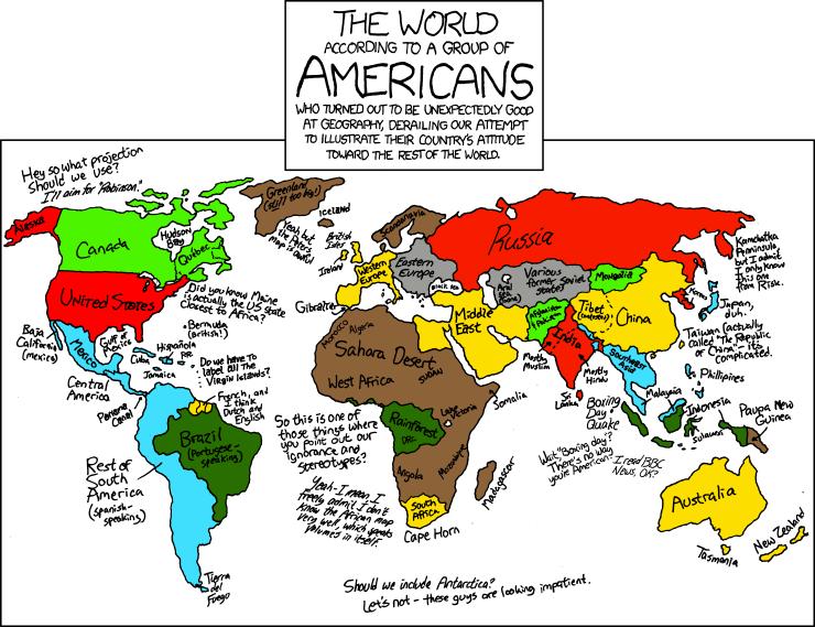 Mundo Acordo Com Grupo Americanos