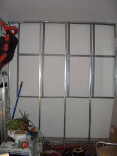 Mucho cierzo construir pared de pladur - Como cerrar una terraza uno mismo ...