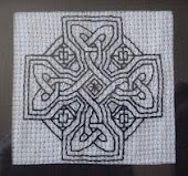 Celtic Crosstitch I have made