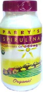 Spirulina protein capsules