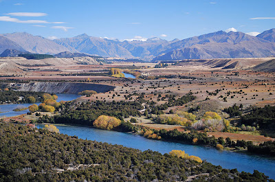 Upper Clutha River, looking towards Wanaka, photo Lewis Verduyn
