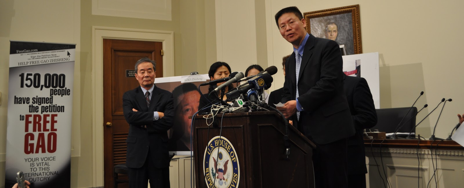 Bob Fu Urges Release of Gao during Obama-Hu`s Meeting