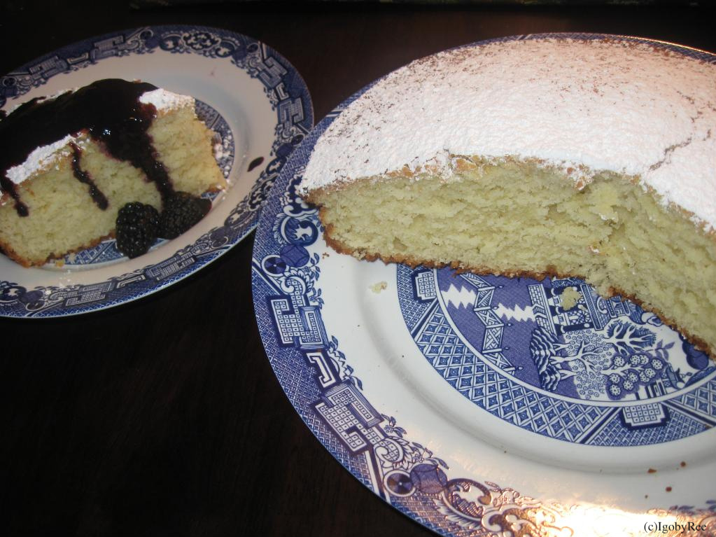 ... , Sugar, Musings and Love: Lime-Ricotta Cake (with Blackberry sauce