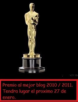 Premio al mejor blog.