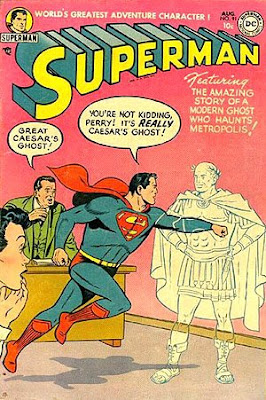 superman 91 perry white comic book julius caesar ides of march shakespeare