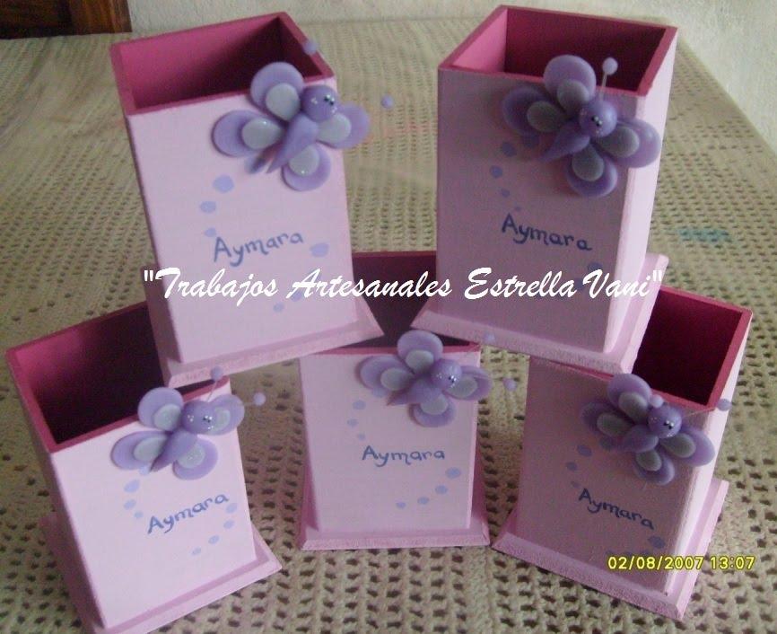 """TRABAJOS ARTESANALES """"ESTRELLA VANI"""": Lapiceros souvenirs para ..."""