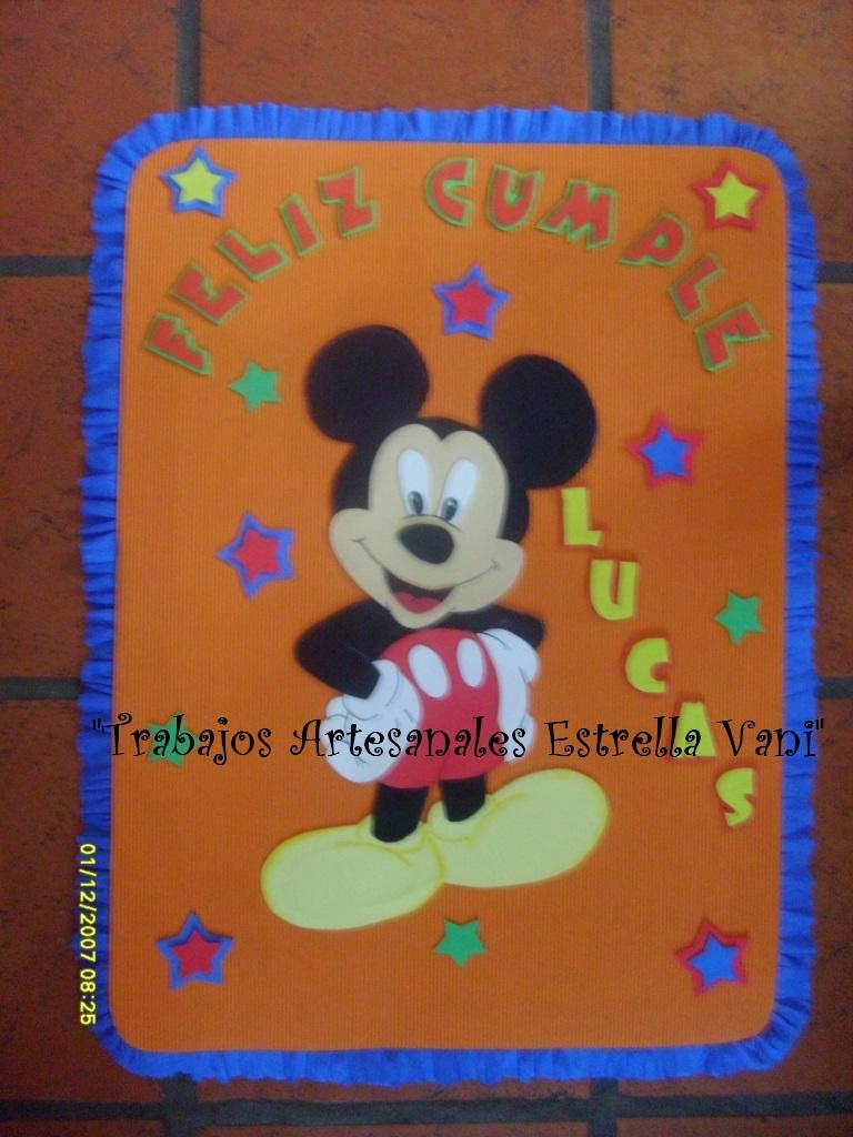 Colgante de Picaporte de Mickey | Todo en GOMA EVA