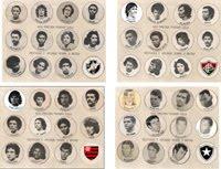 Cartelas históricas da Estrela anos 70 - SP e RJ