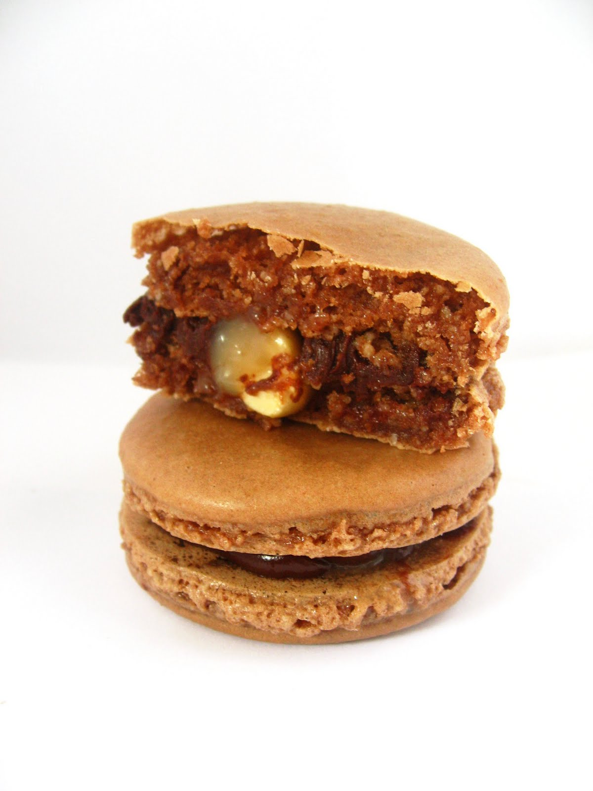 Snickers Macarons | Dessert All the Time