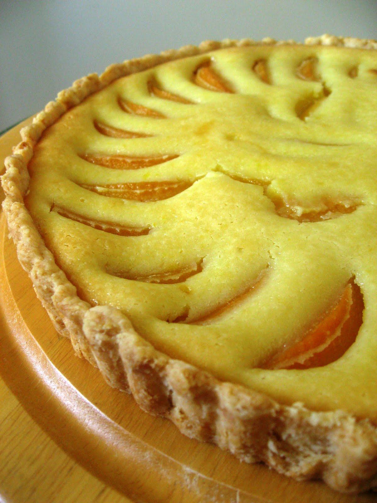 Peach Cream Tart | Dessert All the Time