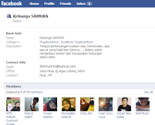 Keluarga samura di face book