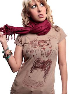 steampunk controller shirt