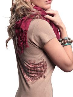 steampunk controller shirt back panel