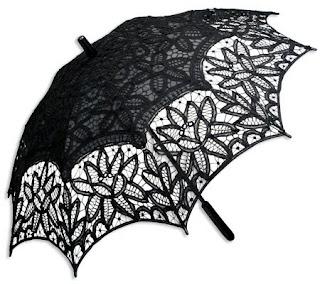 Battenberg lace parasol