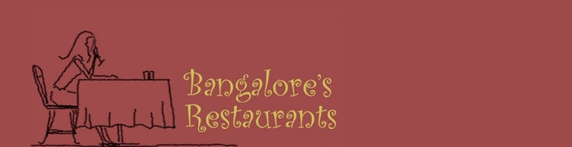 Bangalore restaurants- On my plate