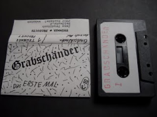 GRABSCHANDER-DAS ERSTE MAL, TAPE SINGLE, 1981, GERMANY