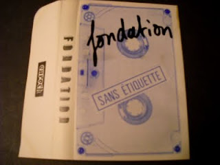 FONDATION-SANS ETIQUETTE, TAPE, 1980, FRANCE