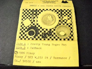 MINOY-PRETTY YOUNG NEGRO MAN, TAPE, 1986, USA