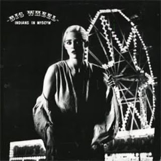 "Cover Album of INDIANS IN MOSCOW-BIG WHEEL 12"", 1983, U.K."