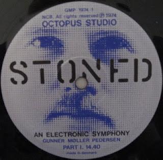 GUNNER MOLLER PEDERSEN-STONED: AN ELECTRONIC SYMPHONY, LP, 1974, DENMARK