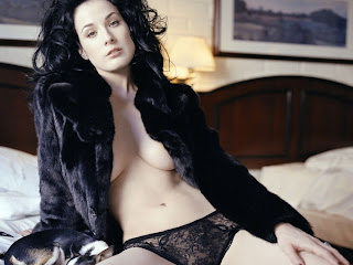 American burlesque artist Dita Von Teese