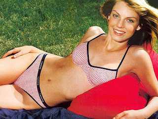 American model and actress Angela Lindvall