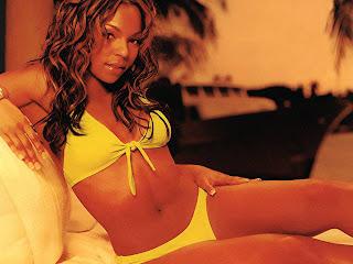 American singer Ashanti Douglas