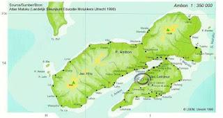 Peta pulau Ambon