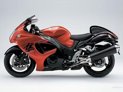 Suzuki motorcycle GSX1300R Hayabusa
