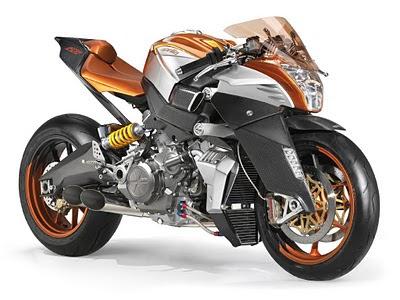 Aprilia motorcycle FV2 1200 Concepts