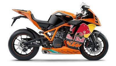 KTM 1190 RC8R motoGP motorcycle