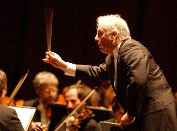 Daniel Barenboim, conductor