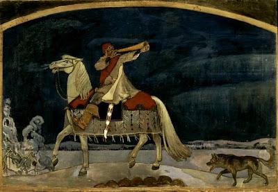 Akseli Gallen-Kallela [Axél Gallén], Kullervo Goes to War
