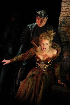 Ruggero Raimondi and Renée Fleming in Lucrezia Borgia, Washington National Opera, photo by Karin Cooper