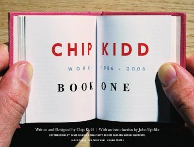 Chip Kidd: Book One, design by Mark Melnick: