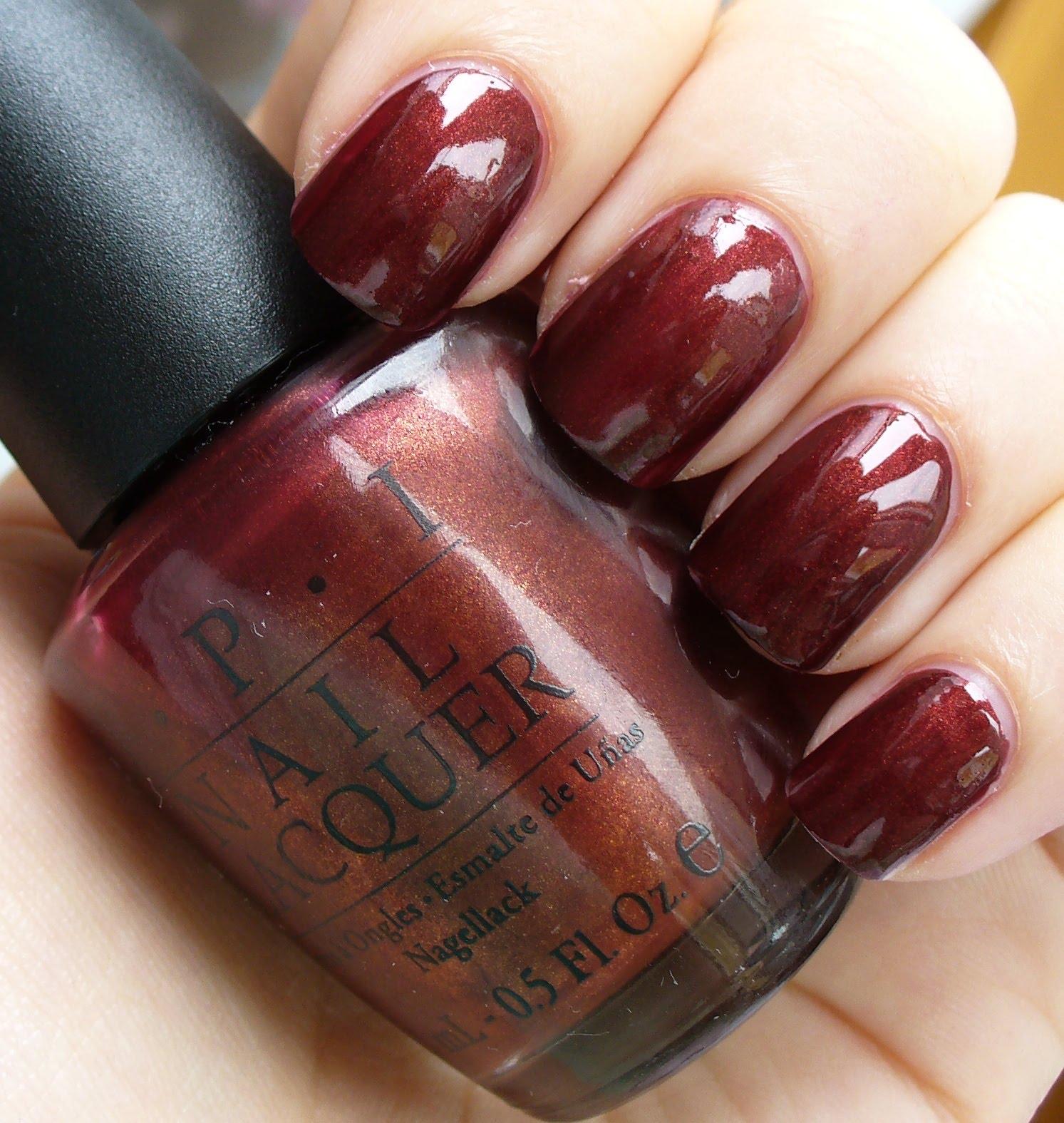 Fancy Opi Nail Polish Romeo And Juliet Embellishment - Nail Art ...