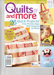 Quilts & More magazine Spring 2010