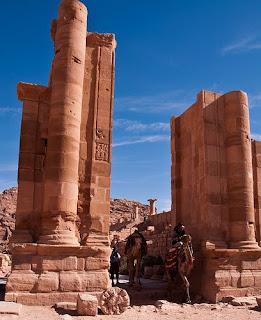 El arco en Petra