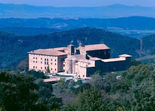 el monasterio de Leire en Navarra